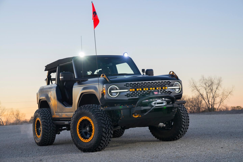 The Bronco Badlands Sasquatch 2-Door Concept was the headliner of Ford's Auto Nights virtual SEMA Show