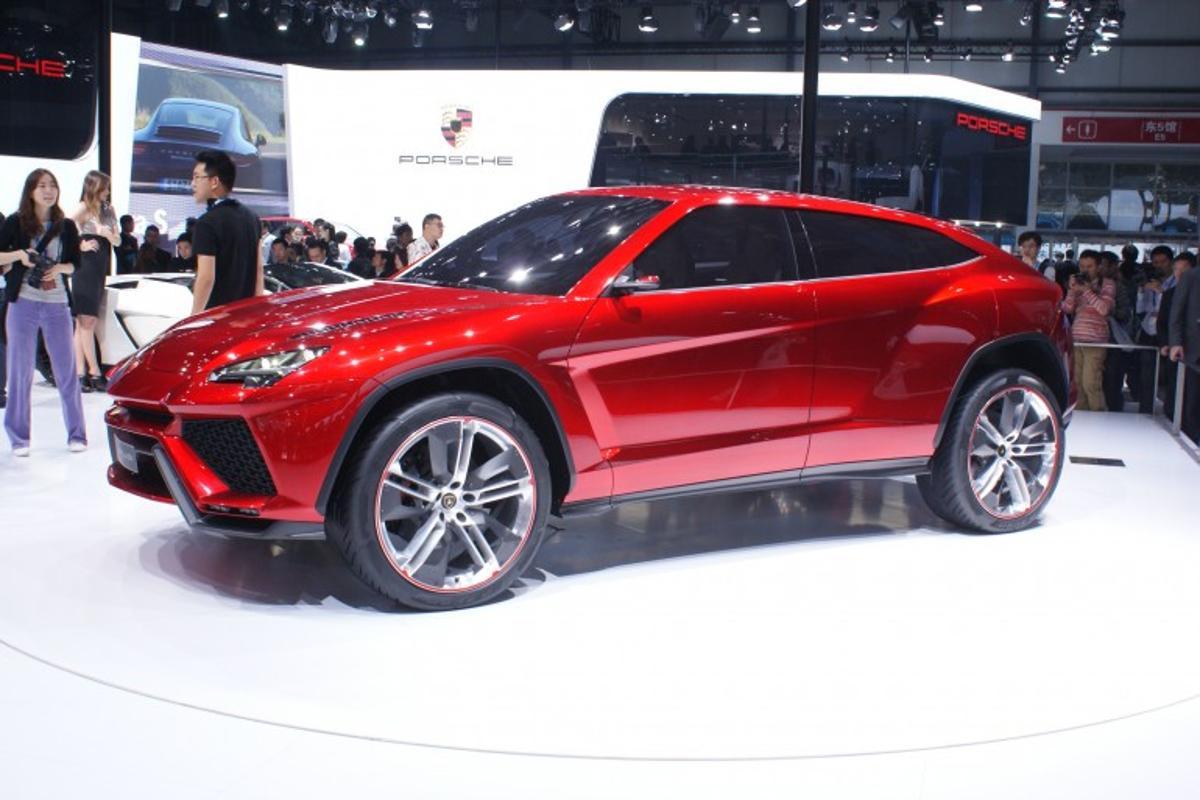 The Lamborghini Urus concept car at the 2012 Beijing Motor Show