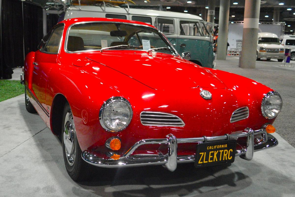 Zelectric shows its electric Karmann Ghia prototype at the 2016 LA Auto Show