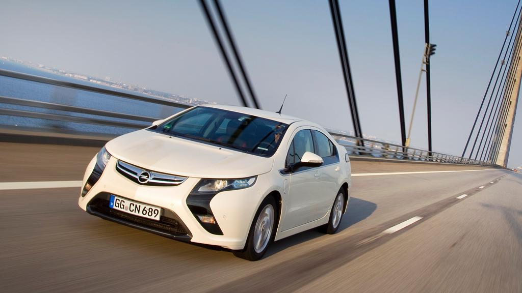 The Opel Ampera