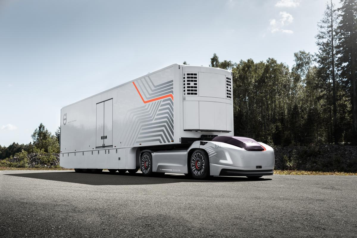 Volvo has just announced a new electric vehicle concept built to tow loads around ports all on their lonesome, so much so it hasn't even bothered with a cabin
