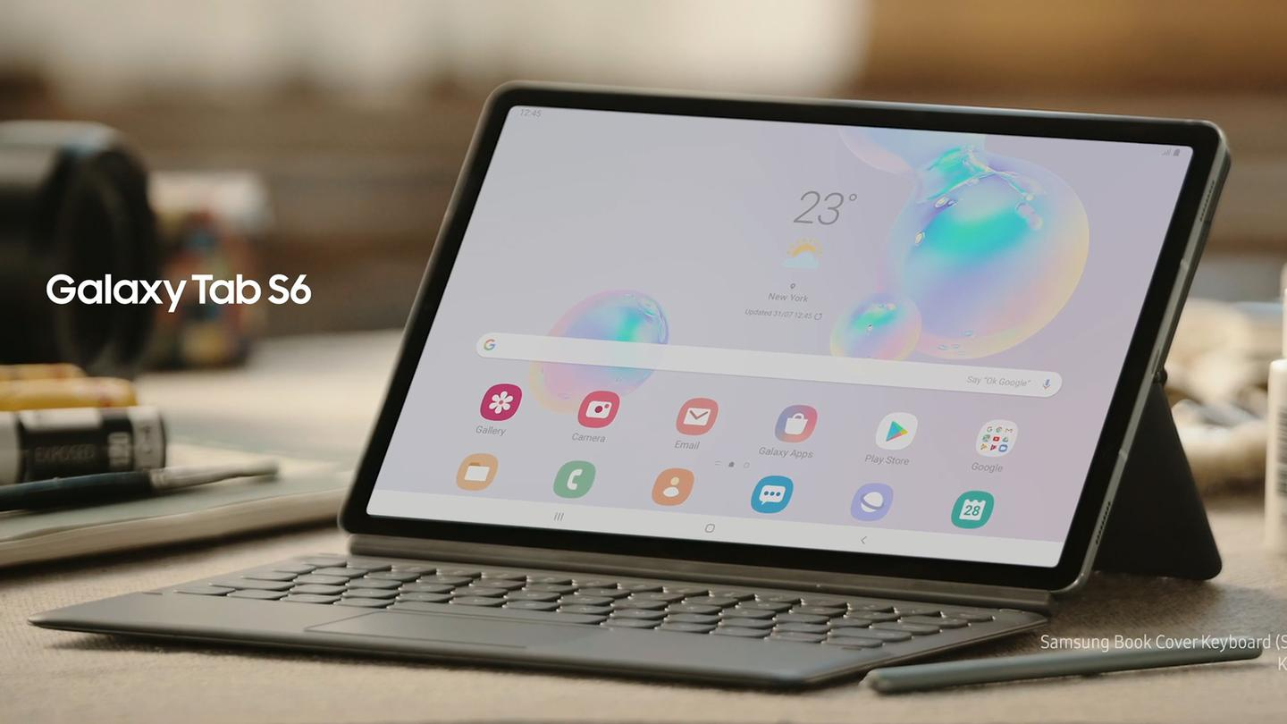 The Galaxy Tab S6 is Samsung's new rival to the iPad Pro