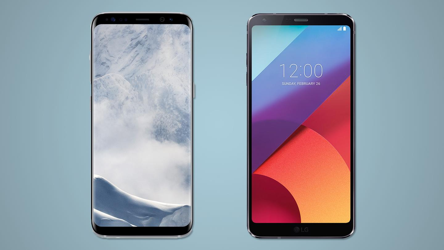 The Samsung Galaxy S8 and the LG G6 are both high-end,nearly bezel-less Androids – here's how they compare
