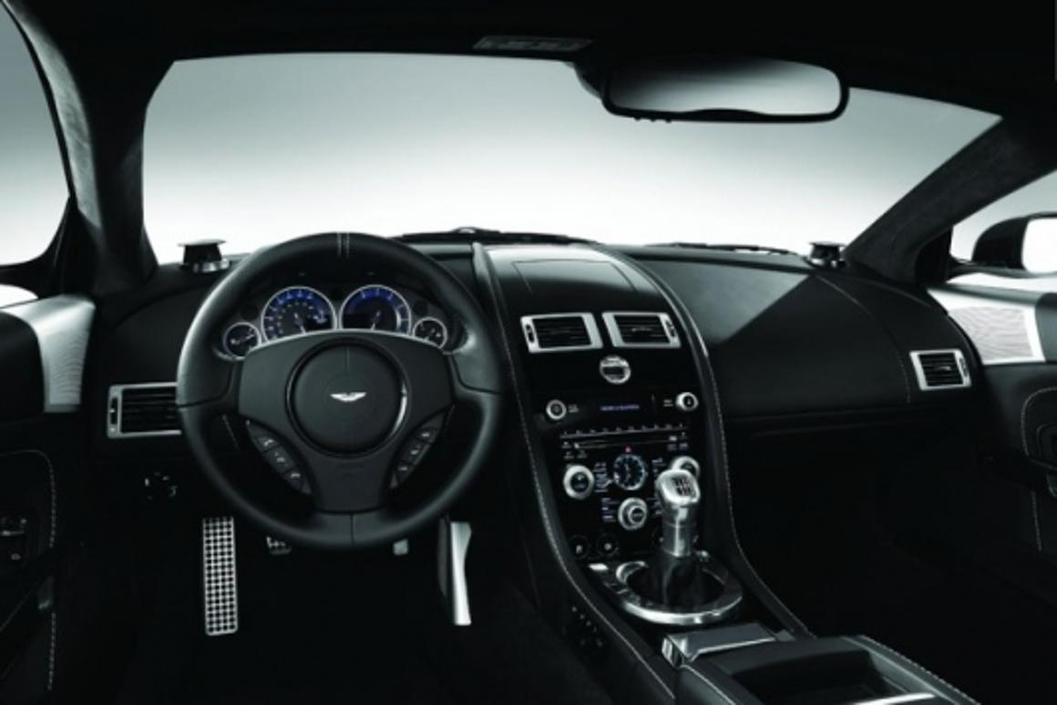 The Bang & Olufsen BeoSound DBS integrates seamlessly into the luxury auto interior