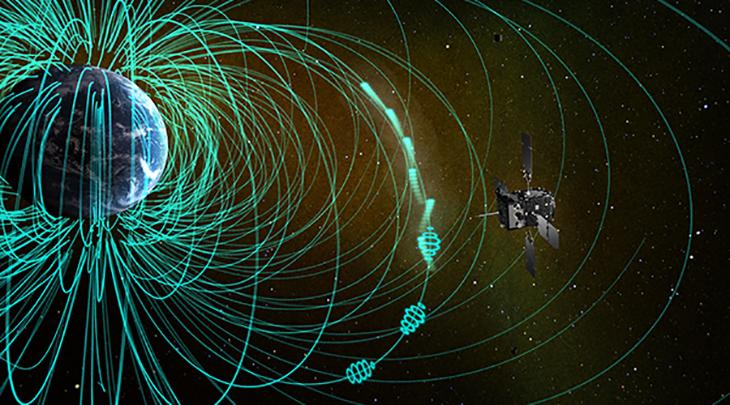 Scientists have directly observed chorus waves and scattered electrons in the magnetosphere, the origin of pulsation auroras, for the first time
