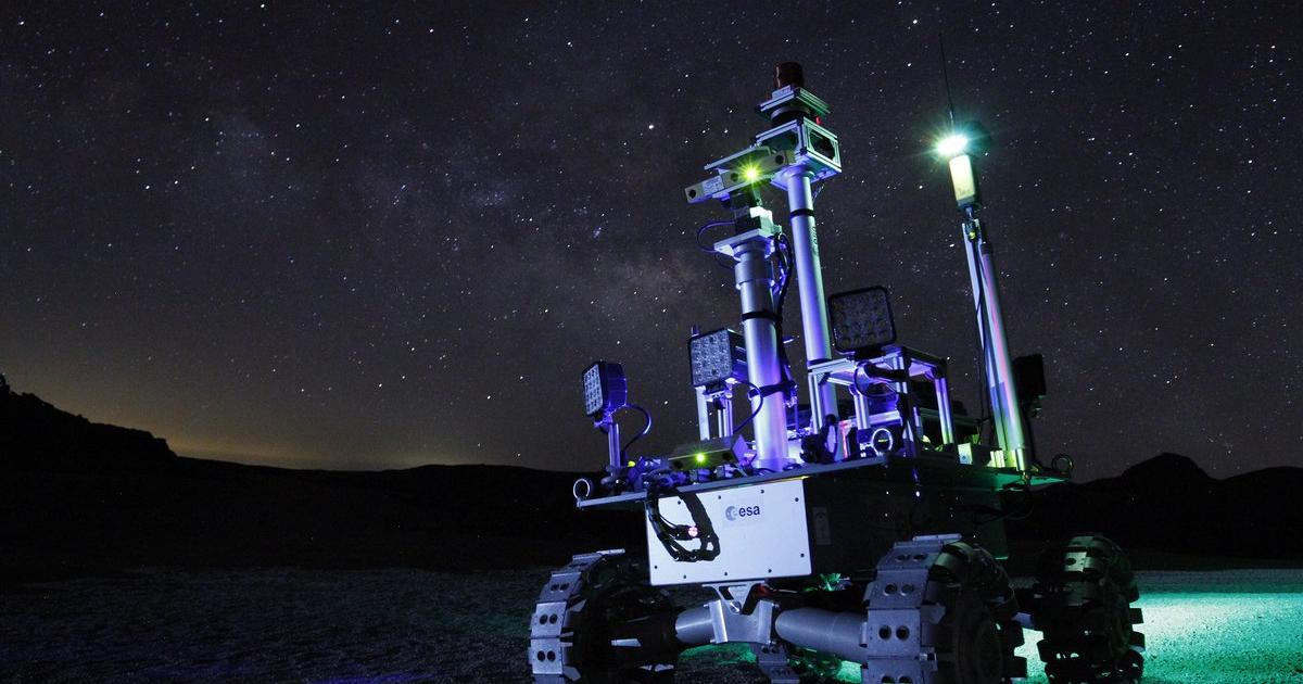 Laser-powered rover is designed to explore the Moon's eternal darkness