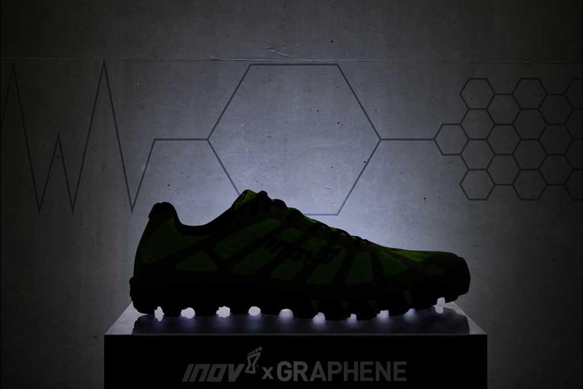 In its quest to make better shoes, inov-8 collaborated with scientists at the University of Manchester's National Graphene Institute