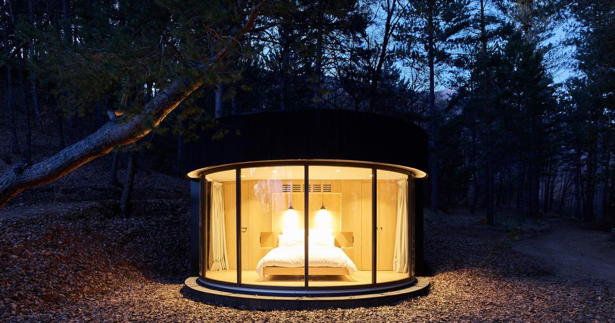 LumiPod micro cabin maximizes the view