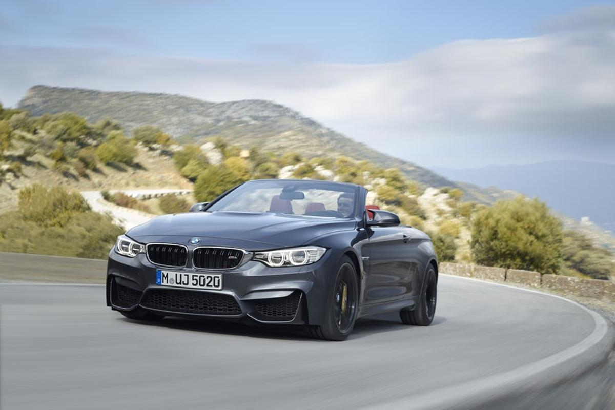 The M4 Convertible is one of the cars available through BMW's new subscription service
