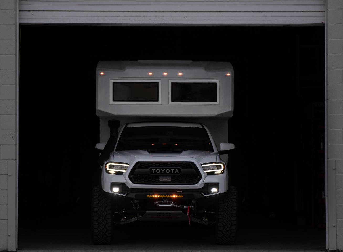 The TruckHouse BCT emerges this week as a compact, go-anywhere expedition vehicle based on the Toyota Tacoma