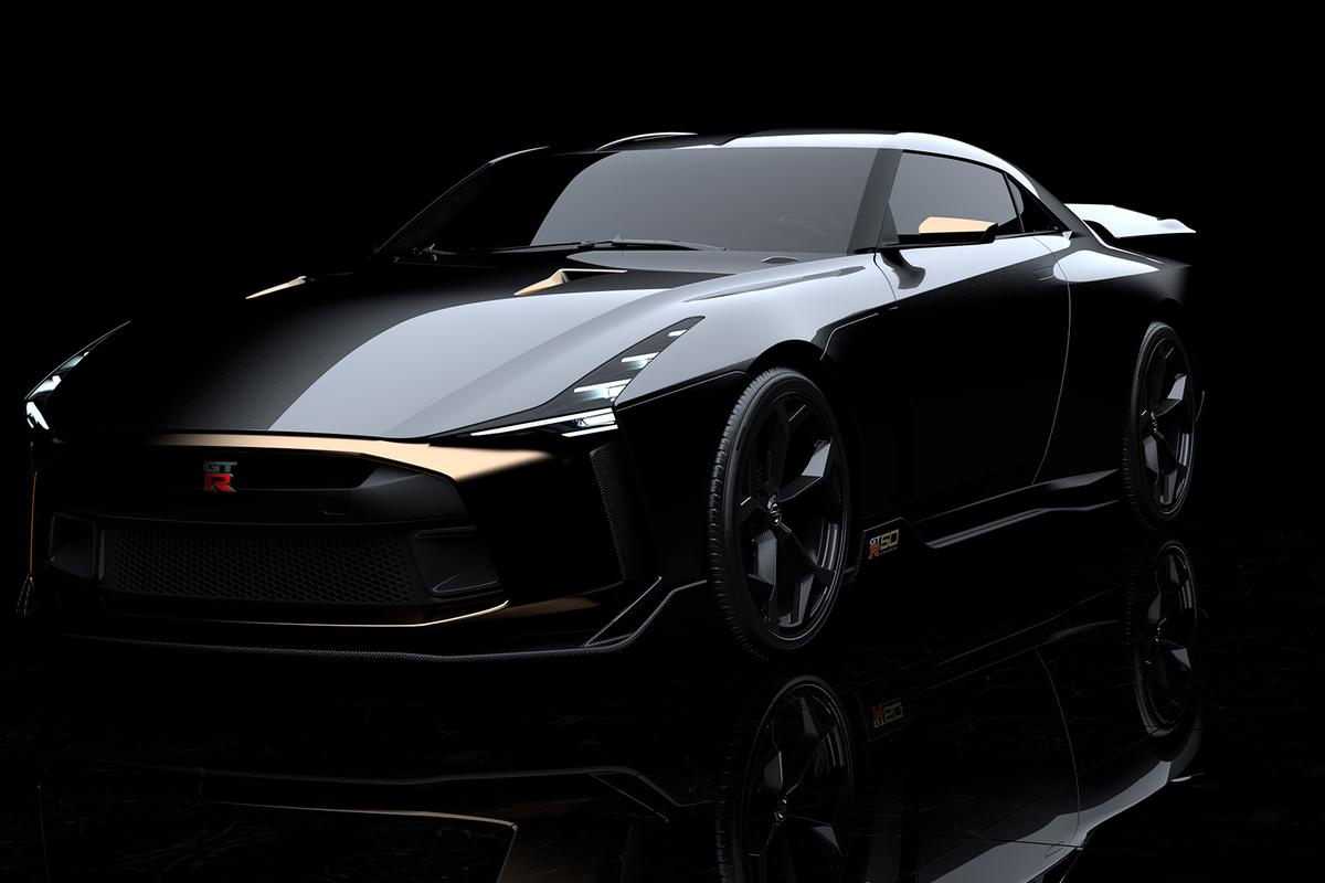 Nissan will debutthe GT-R50 at the2018 Goodwood Festival of Speed