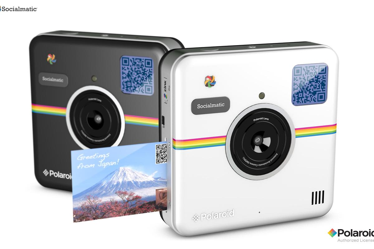 The Polaroid Socialmatic camera is scheduled for release in late 2014/early 2015