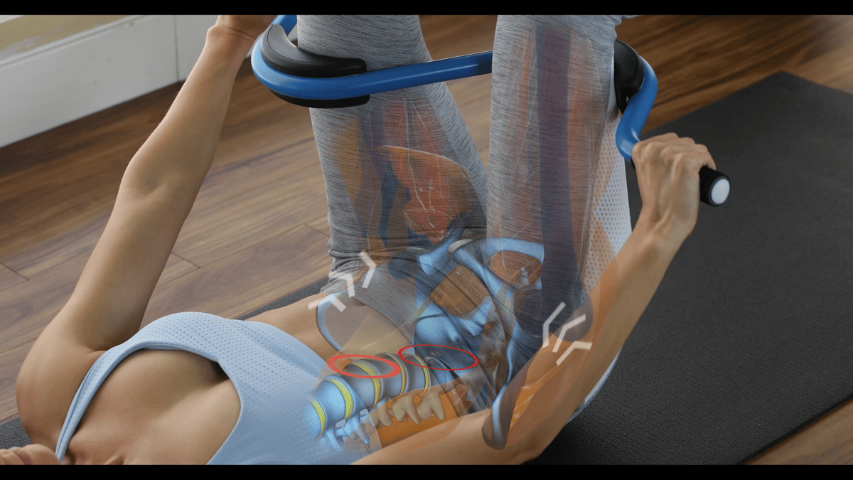 Back Pedalwas created to strengthen the right muscles in the right way