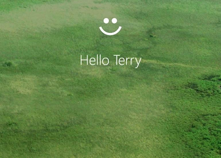 Windows Hello recognizes who you are