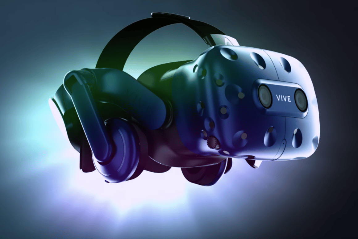 HTC has upgraded its Vive VR headset with the Vive Pro, significantly boosting the resolution and adding integrated headphones