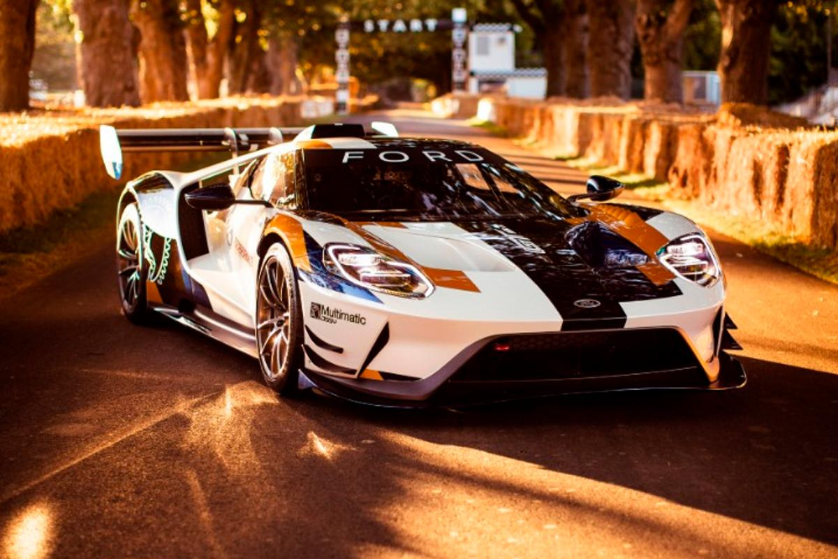 The Ford GT Mk II, built for the track