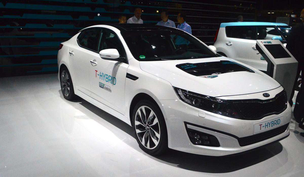 Kia believes the T-Hybrid powertrain will raise performance and fuel economy (Photo: C.C. Weiss/Gizmag)