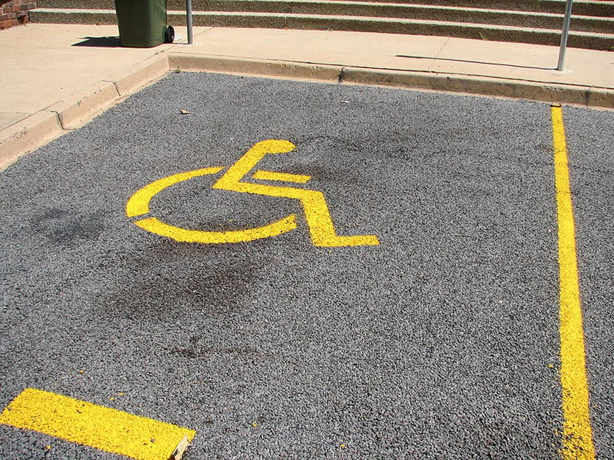New Zealand's Car Parking Technologies has developed a system that detects when a non-disabled driver's vehicle is parked in a handicapped parking spot (Photo: Tdmalone)