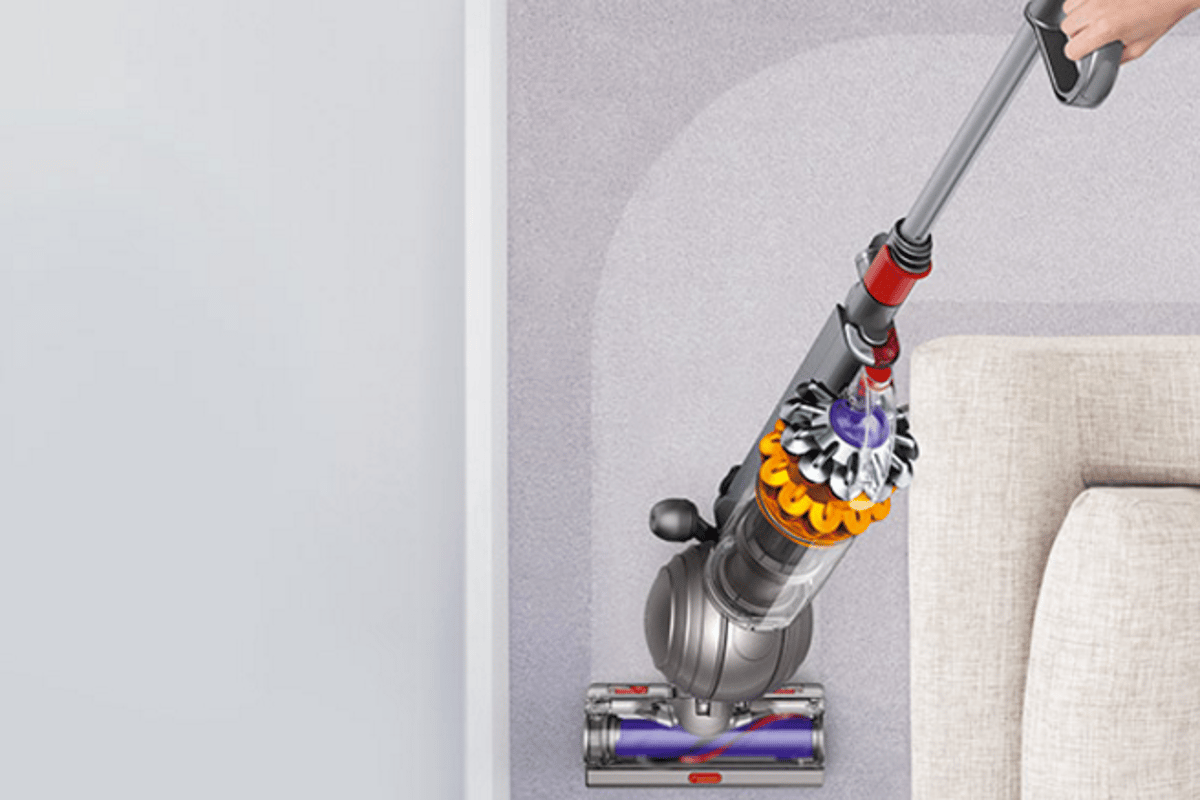 The Dyson Small Ball is designed for easy storage and partability
