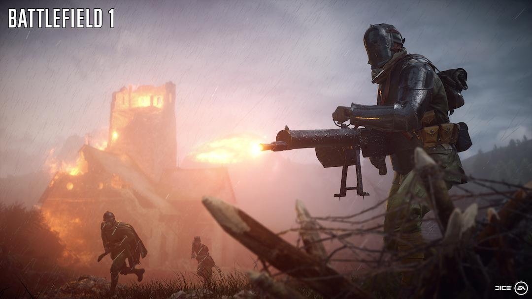 Battlefield 1 is due October 21 on PS4, Xbox One and PC