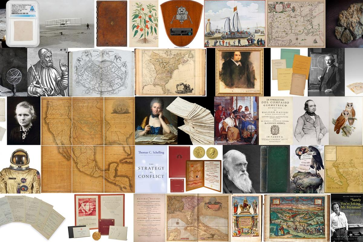 Our annual look at the auction market for scientific artifacts charts a fascinating course through the history of science and discovery, as well as providing insight into exactly how we value that scientific heritage
