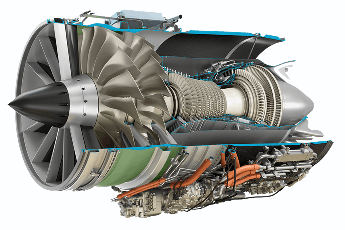 GE Aviation engineers haveunveiled Affinity, a new family of supersonic jet engines for civilian aircraft