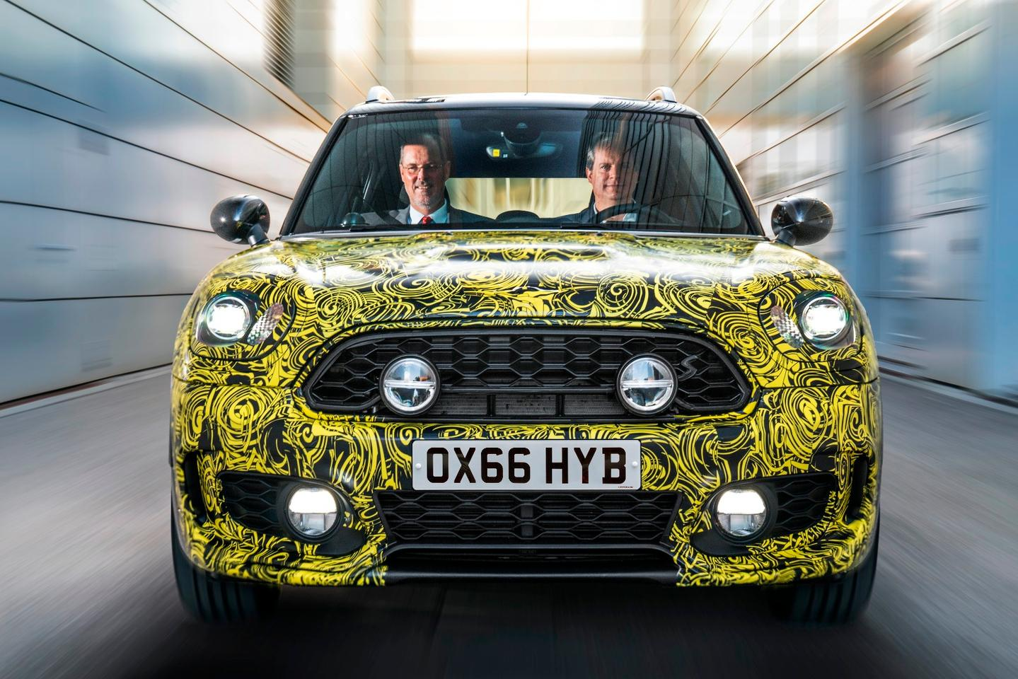The Mini Hybrid is reported to be launchingsoon, but no further details are available at the moment