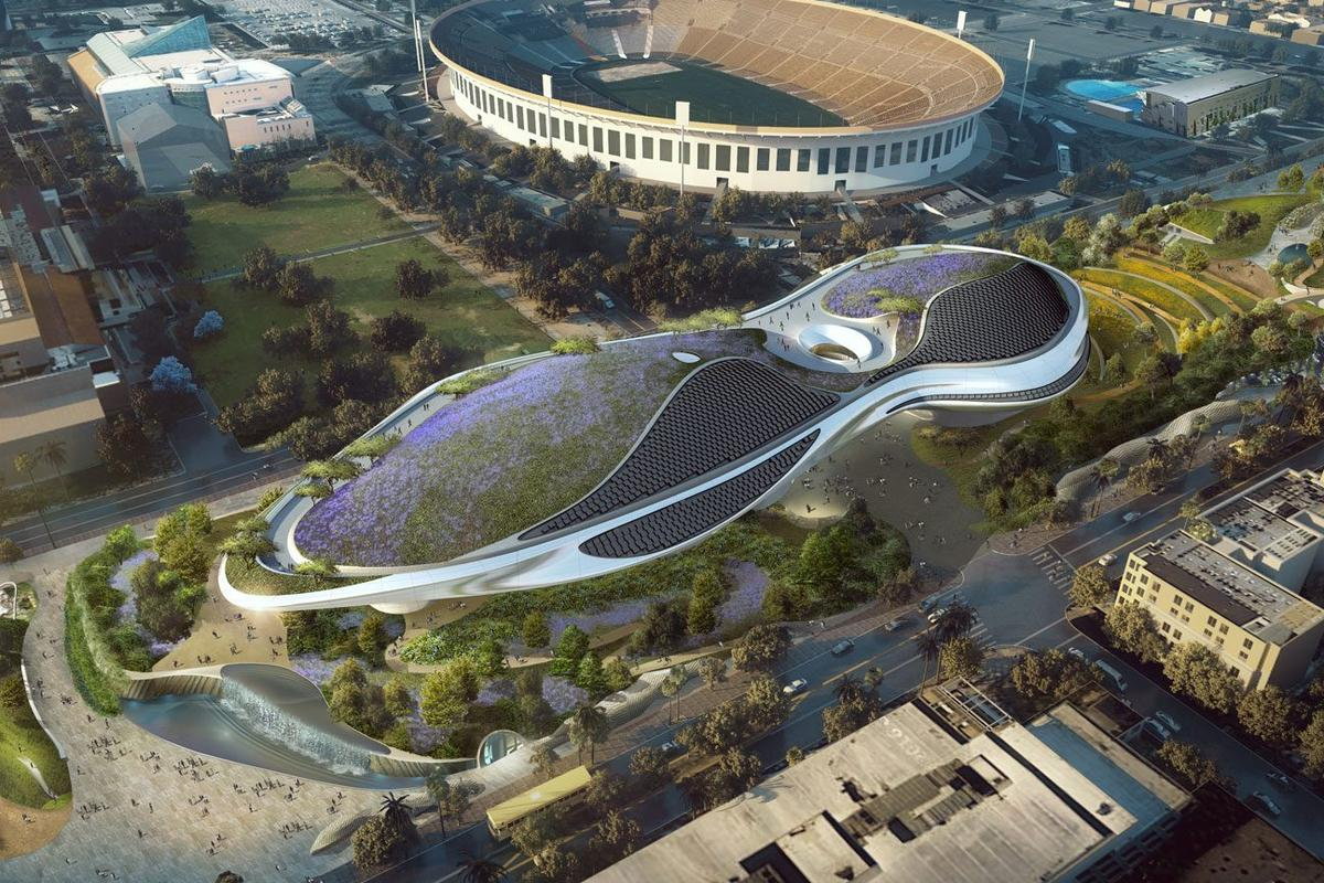 The Lucas Museum of Narrative Art will feature significant greenery on its rooftop terrace