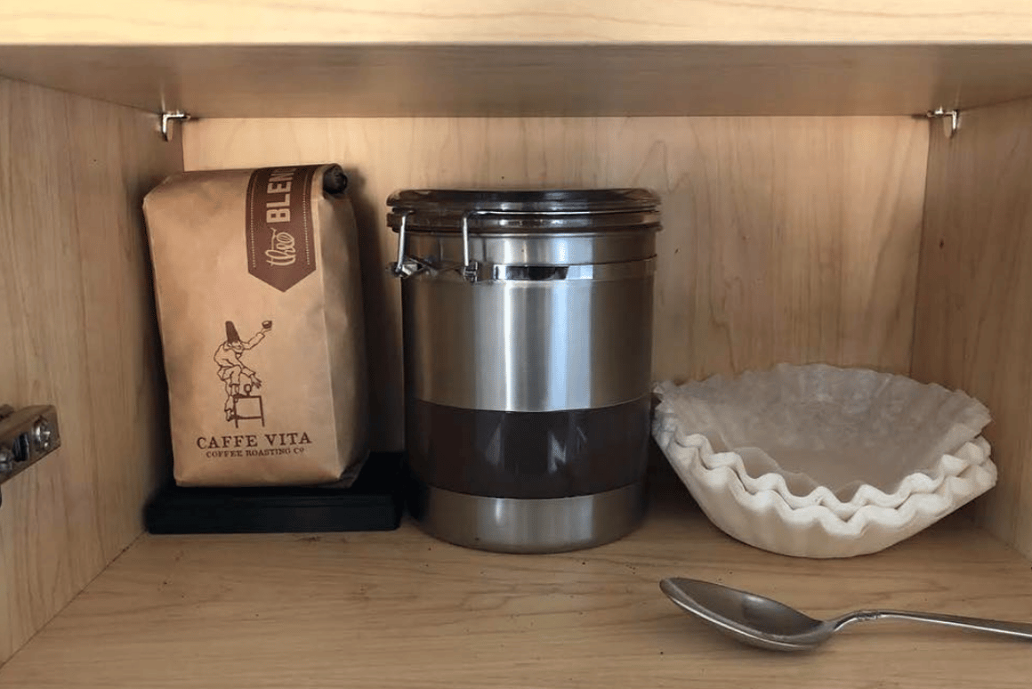 A Seattle solution to a Seattle problem: Bottomless automatically orders fresh coffee beanswhen it detects you're running low