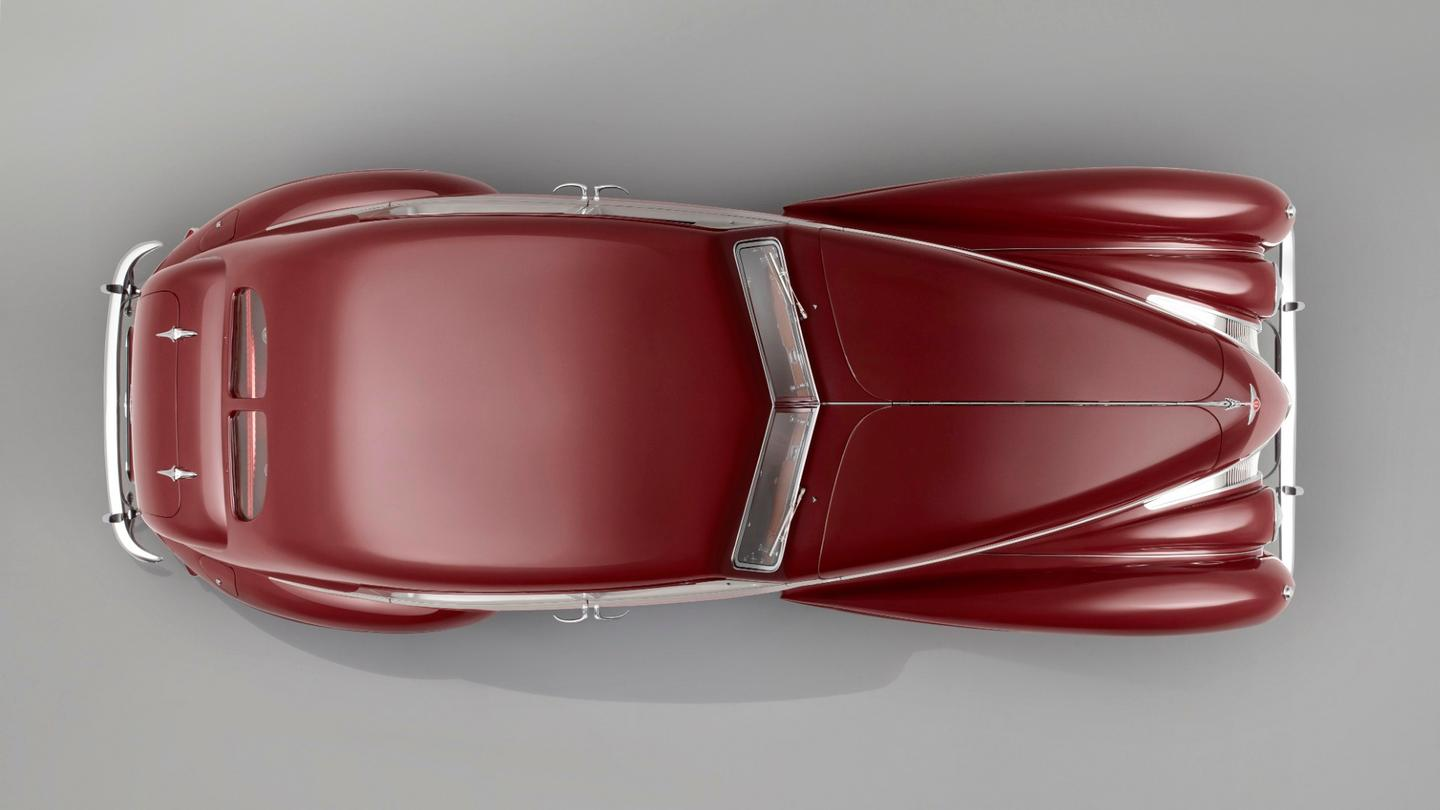 The 1939 Bentley Corniche - re-created from technical drawings80 years after it was lost