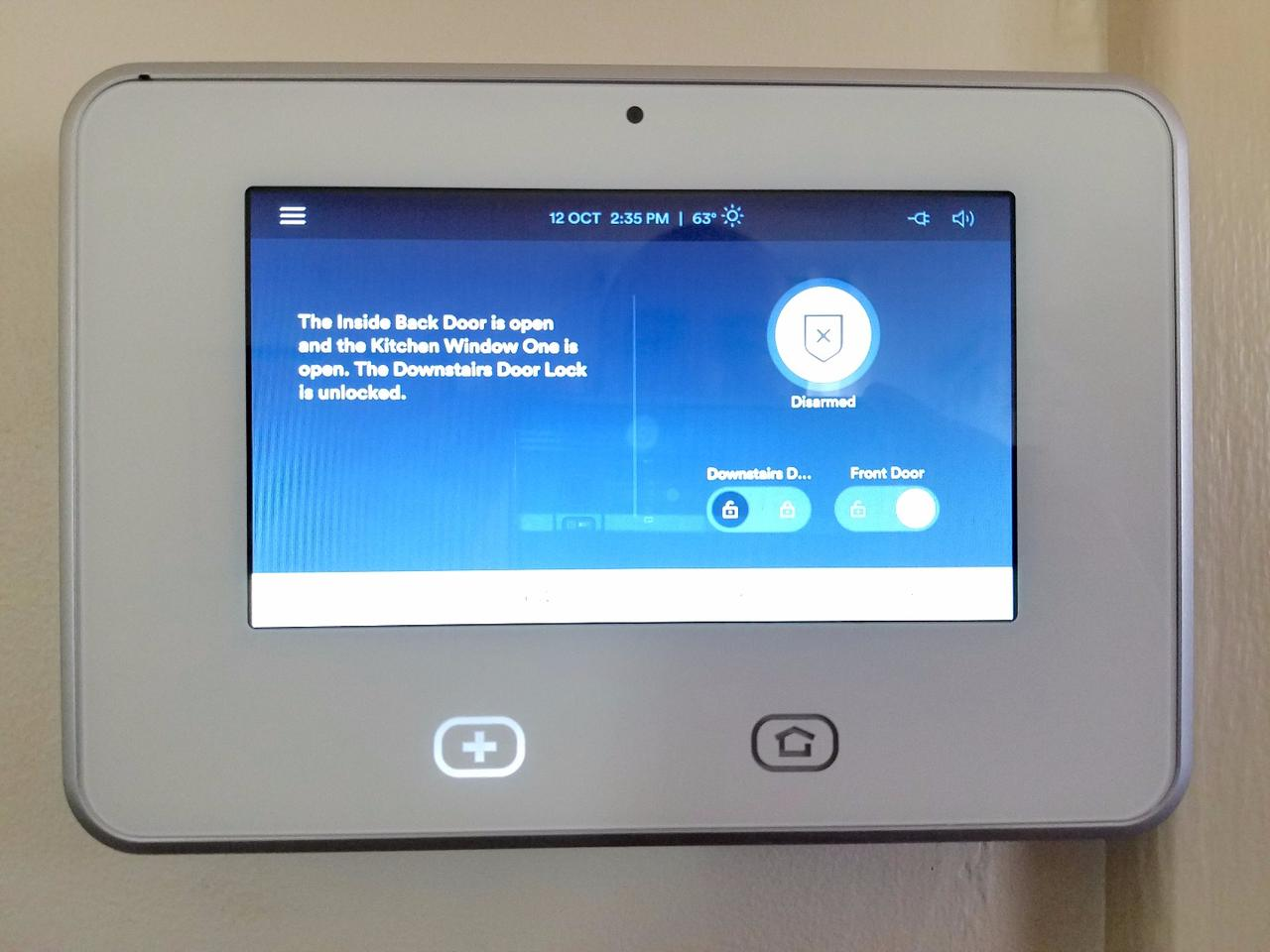 Vivint Alarm System >> Review Vivint Security System Keeps Watch With Help From Alexa