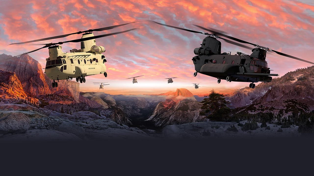Boeing will build and test three U.S. Army CH-47F Block II Chinook helicopters as part of a modernization effort