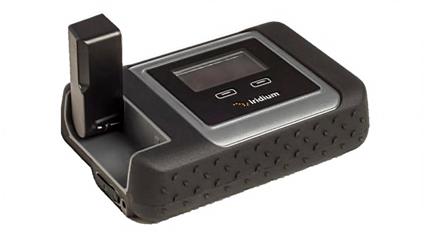 The Iridium Go is a satellite-based hotspot for your smartphone or tablet