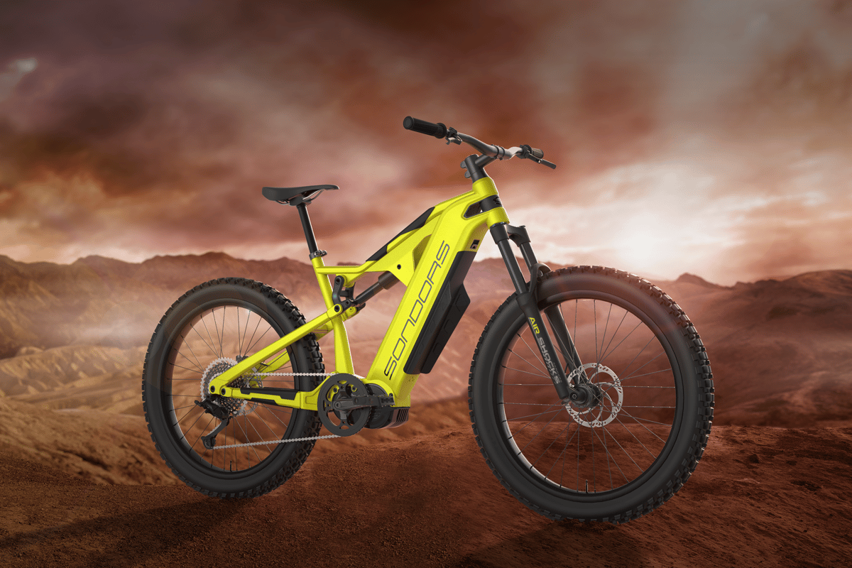 A long-range, high-powered dual suspension ebike at an affordable price