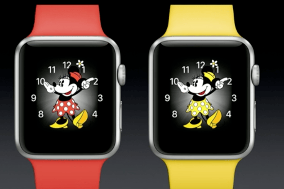 Apple's not just mickeying around with its next OS update for the Apple Watch