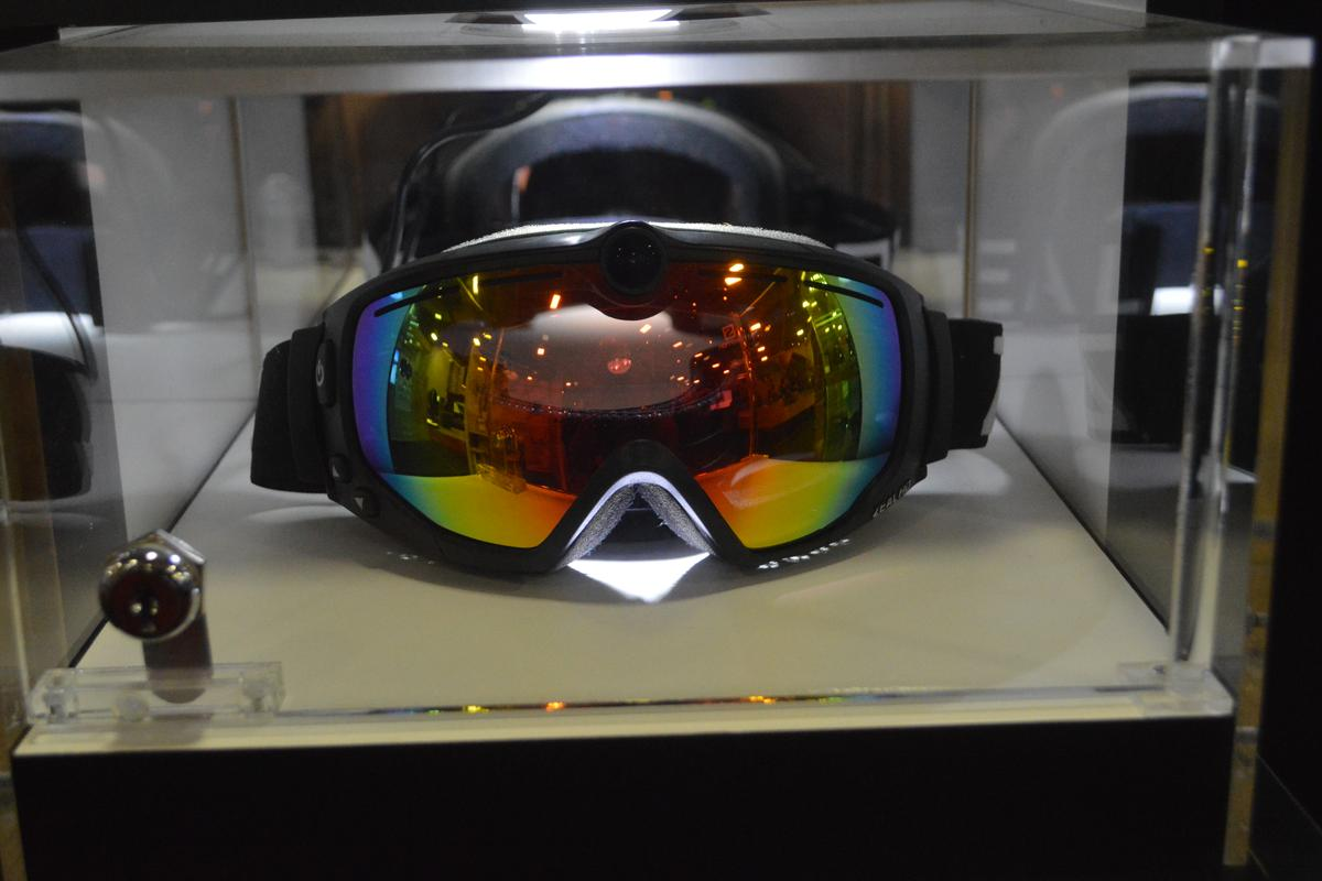 Zeal shows its updated HD2 Camera Goggle at the 2014 Outdoor Retailer Winter Market