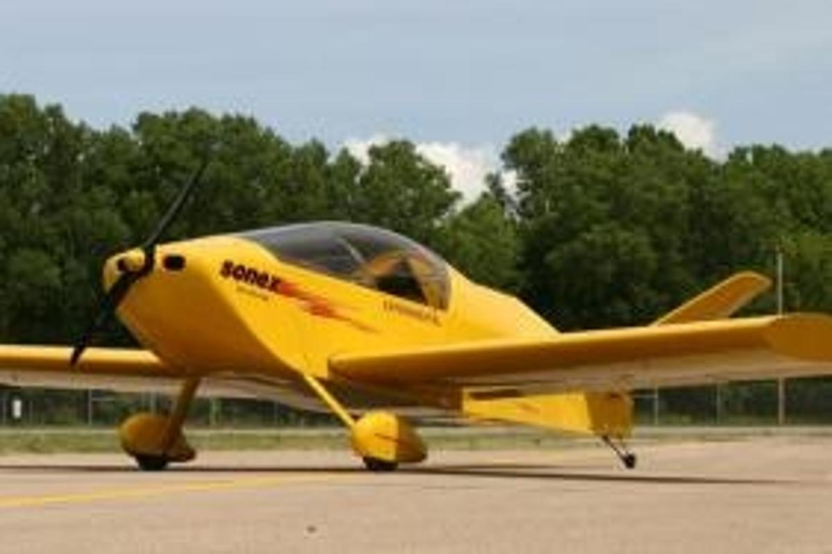 E-Flight Electric-Powered Waiex Prototype