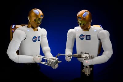 Robonaut 2 has been designed to use the same tools as humans