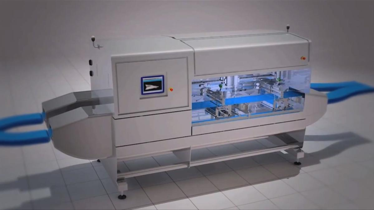 The design of the automated filleting machine developed by the APRICOT project