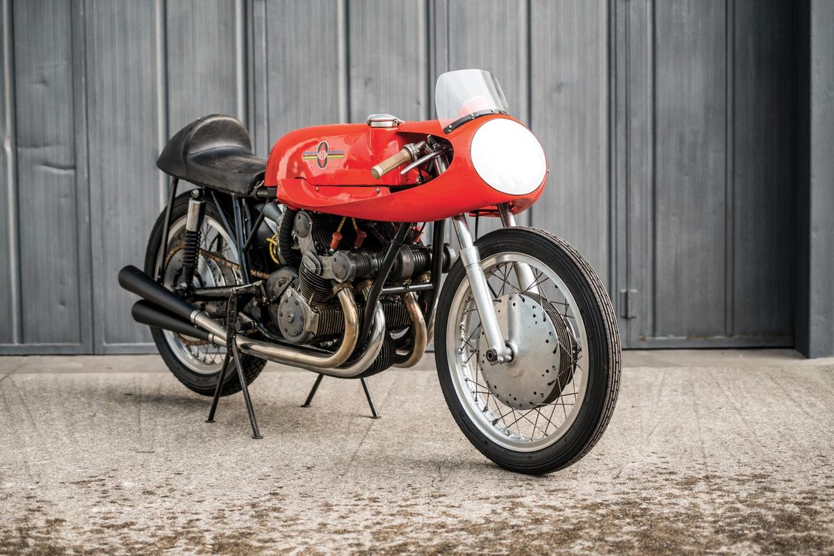 This 1957 Gilera 500cc Grand Prix bike is one of just 15 ever made by the factory. It is the final iteration of one of the most successful bikes in history and it will go to auction at Villa Erba on May 27.