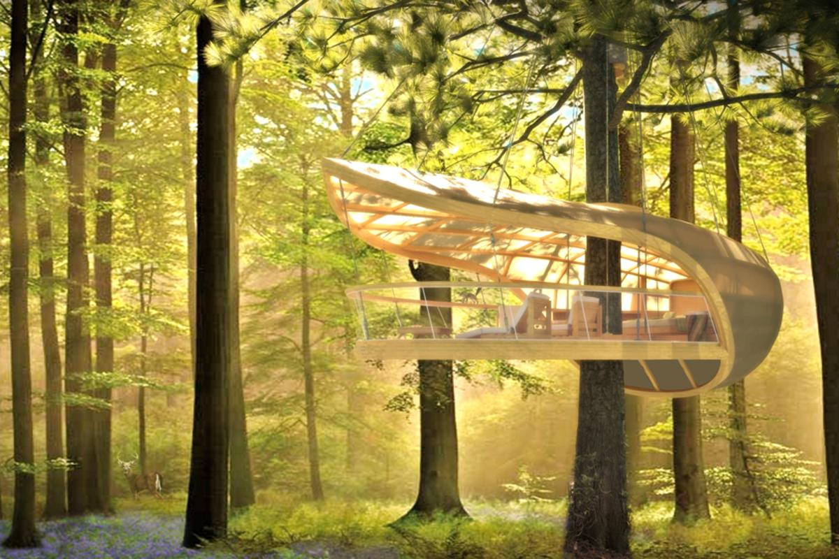 Twelve new one-bedroom treetop villas will be installed over the coming winter months