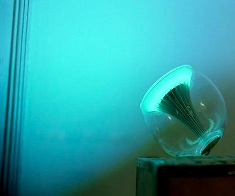 Philips LivingColors lamp helps you create the right atmosphere for any occasion