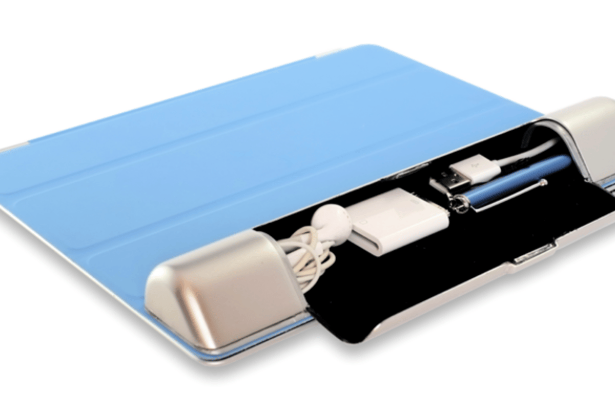Smart Cargo provides some useful storage to iPad owners