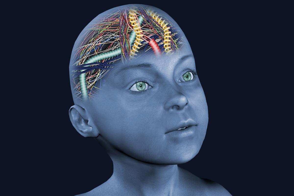Researchers have found that an AI system has an average IQ of a four-year-old child (Image: Shutterstock)