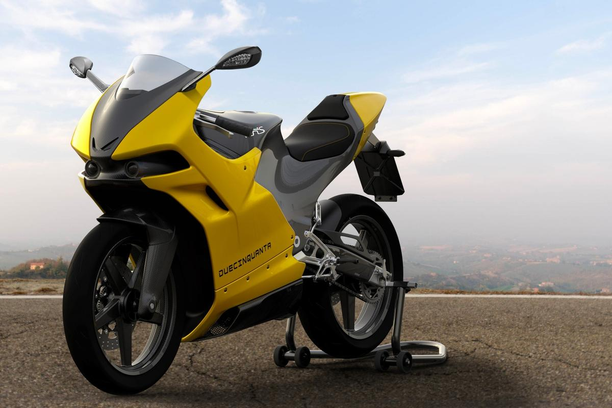The Vins Duecinquanta ushers ina new generation of ultra-lightweight two-stroke street sportsbikes