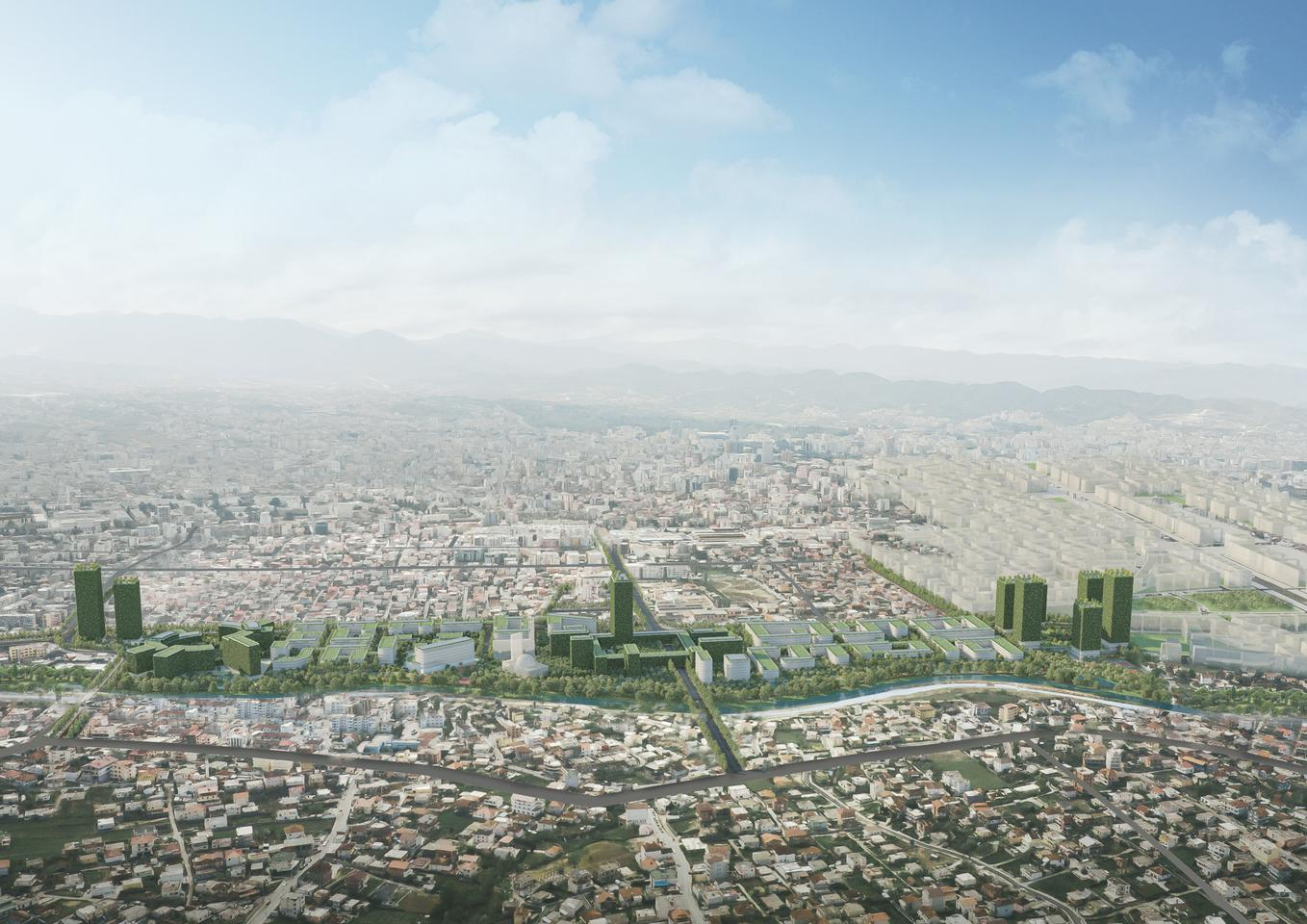 Tirana Riverside is scheduled to begin construction soon, with the first housing units expected to be completed in 12 months