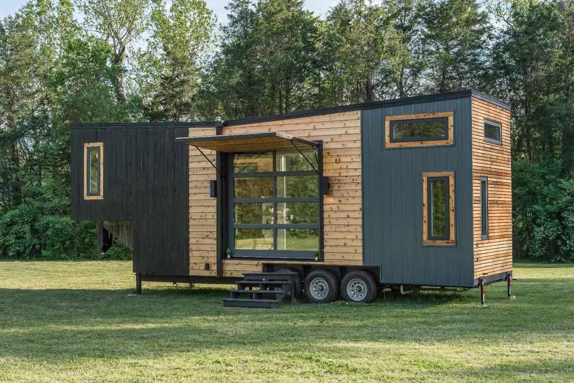 Escher Tiny House Maximizes Luxury And Living Space