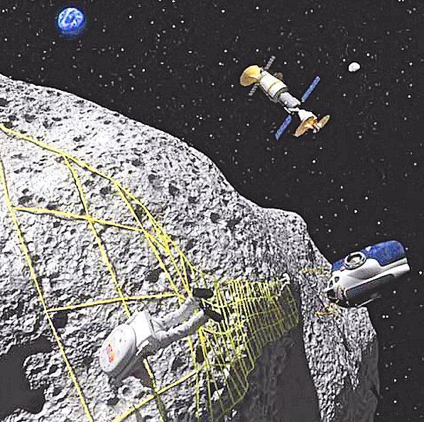 Planetary Resources - A vision of asteroid miningImage: NASA