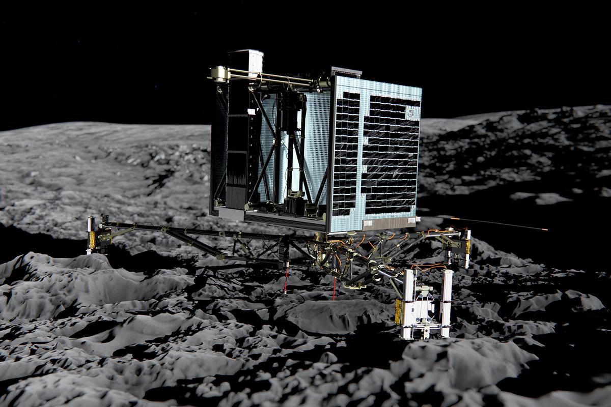 Artist's impression of the Philae lander (Image: ESA) (Image: ESA)
