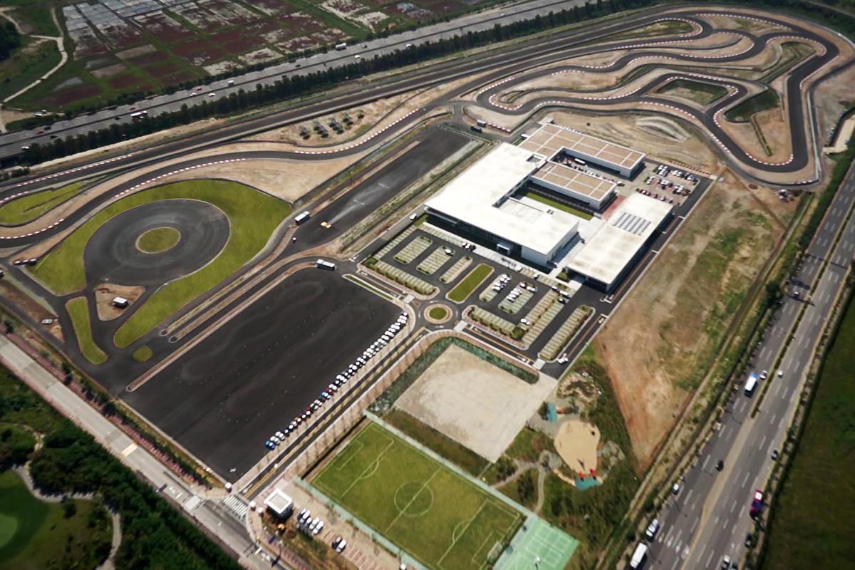 BMW Korea Driving Center bird's eye view